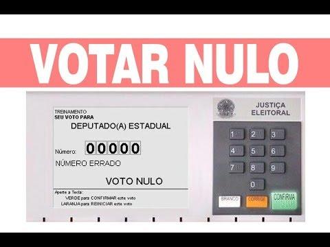 Como Votar Nulo?